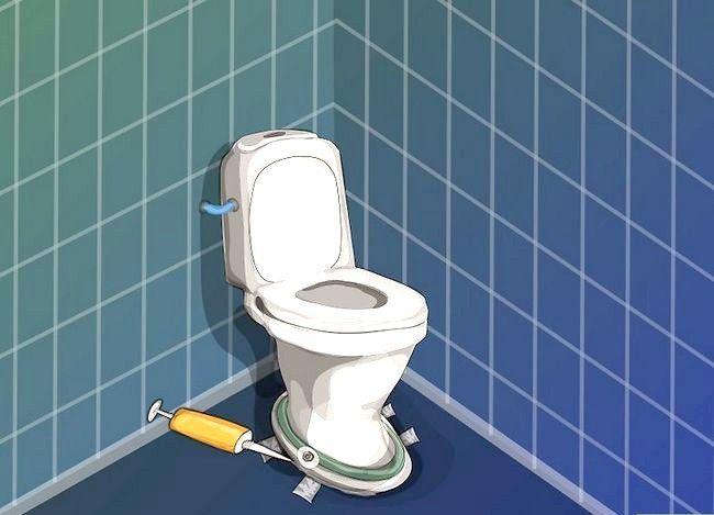 Prent getiteld Vervang `n toilet Stap 18
