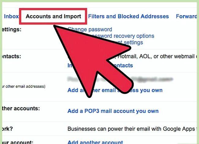 Beeld getiteld Stuur Yahoo Mail na Gmail Stap 13