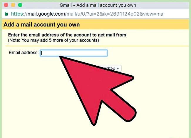 Prent getiteld Stuur Yahoo Mail na Gmail Stap 15