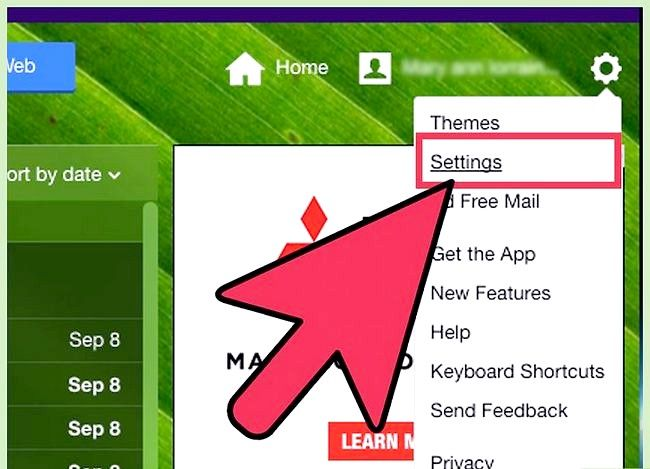 Prent getiteld Stuur Yahoo Mail na Gmail Stap 2
