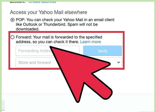 Prent getiteld Stuur Yahoo Mail na Gmail Stap 5
