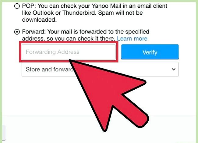 Prent getiteld Stuur Yahoo Mail na Gmail Stap 7