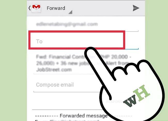 Prent getiteld Stuur Gmail Stap 3