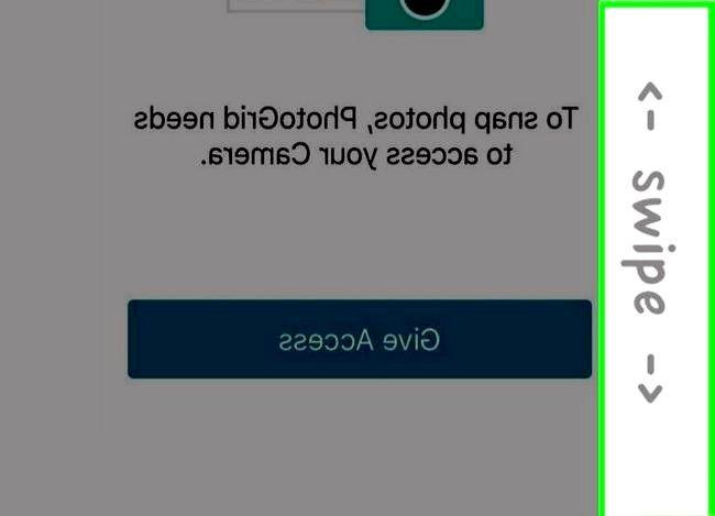 Prentjiefoto`s Spieëlfoto`s op `n iPhone Stap 17