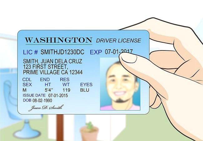 Prent getiteld Registreer om te stem in Washington Stap 22