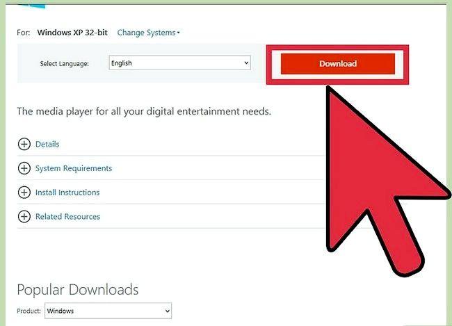 Prent getiteld Herinstalleer Windows Media Player Stap 18