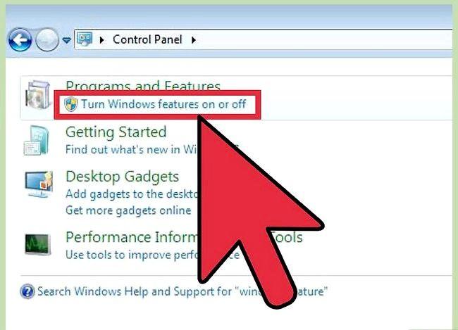 Prent getiteld Installeer Windows Media Player Stap 2 weer