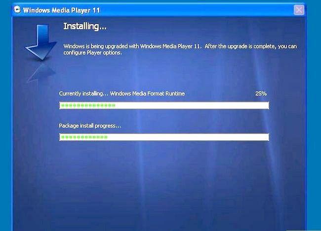 Prent getiteld Installeer Windows Media Player Stap 23 weer