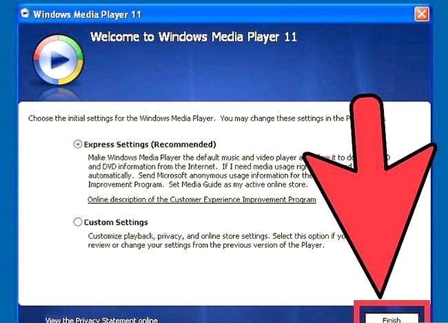 Prent getiteld Herinstalleer Windows Media Player Stap 24