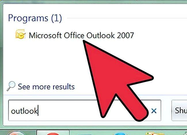 Prent getiteld Installeer Outlook Express Stap 2 weer