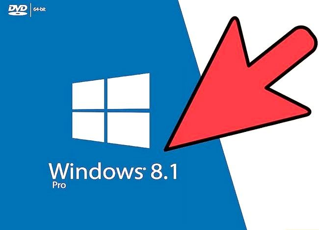 Prent getiteld Installeer Windows 8.1 Stap 1 weer
