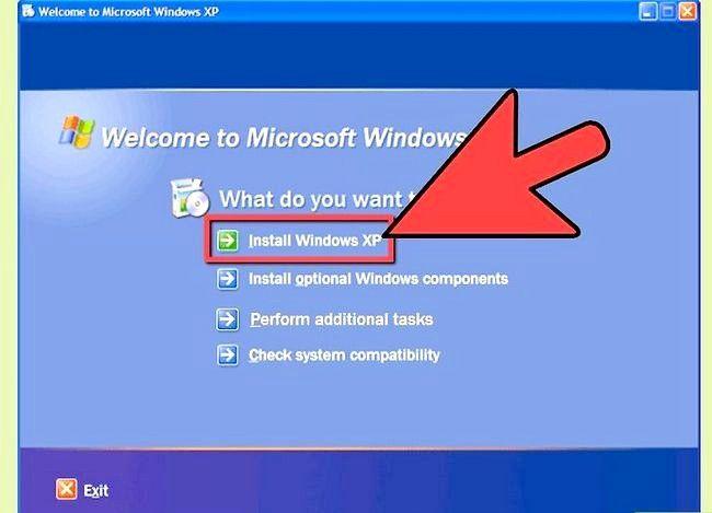 Beeld getiteld Windows XP weer installeer sonder die CD Stap 6