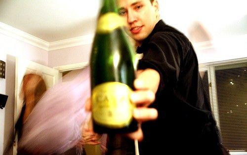 Prent getiteld Posh party 21