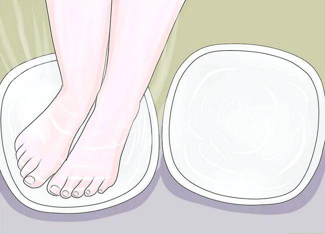 Prent getiteld Ontspan jou voete Stap 3