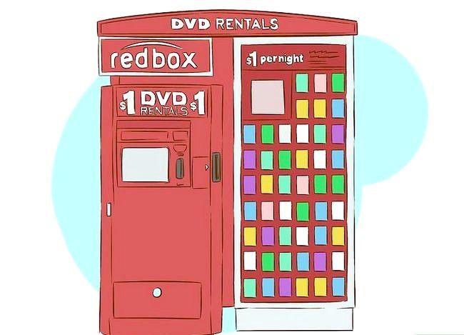 Beeld getiteld Huur flieks van Redbox Stap 2
