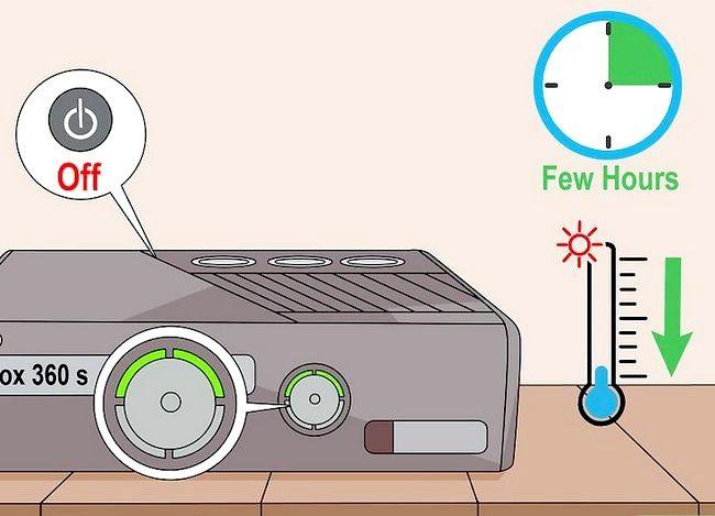 Prent getiteld `n Xbox 360 regmaak Nie op stap 5 aangeskakel nie