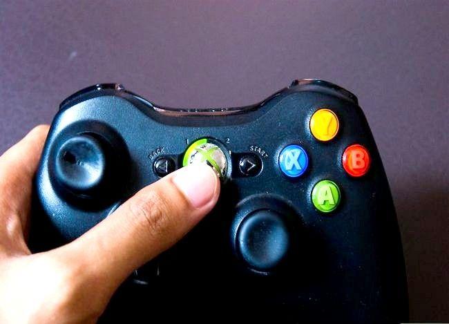 Prent getiteld Speel jou musiek op `n Xbox 360-spel Stap 2