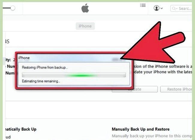 Beeld getiteld Herstel iPhone vanaf Backup Stap 4