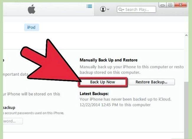 Beeld getiteld Herstel iPhone vanaf iCloud Stap 1