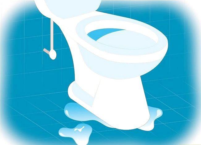 Prent getiteld Verwyder `n toilet Stap 15