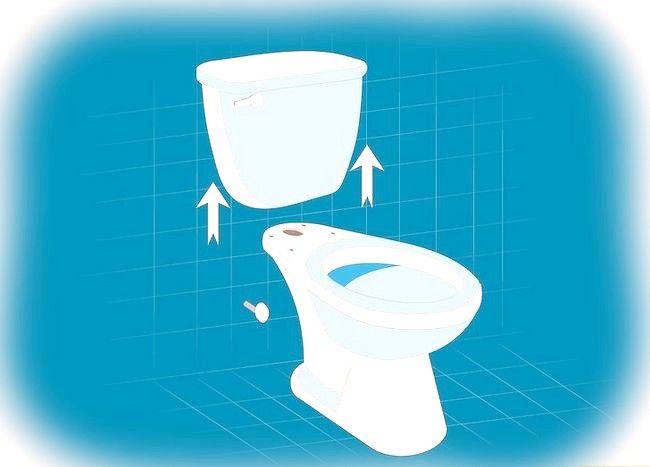 Prent getiteld Verwyder `n toilet Stap 2