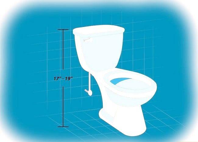 Prent getiteld Verwyder `n toilet Stap 10