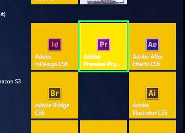 Prent getiteld Rotasie `n video in Adobe Premiere Pro Stap 1
