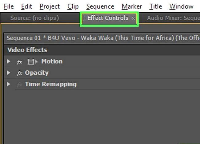 Prent getiteld Rotate `n video in Adobe Premiere Pro Stap 4