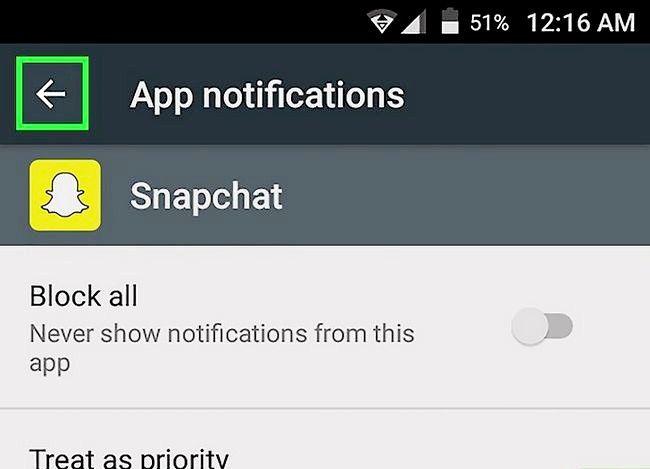 Prent getiteld Vertel as iemand op Snapchat Stap 11 gaan skryf