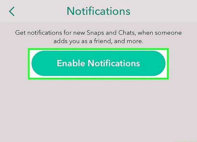 Prent getiteld Vertel as iemand op Snapchat Stap 16 gaan