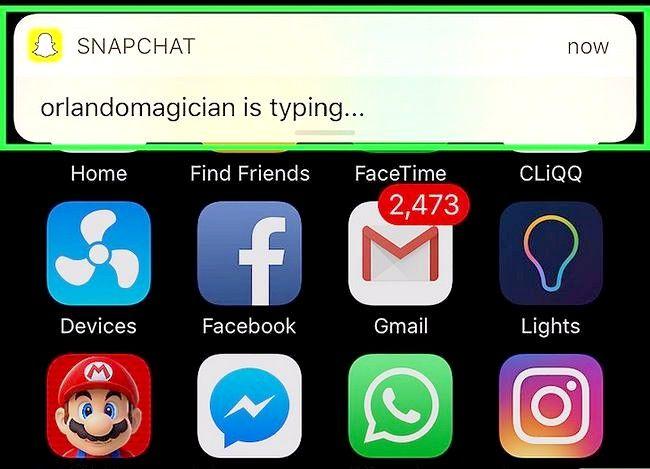 Prent getiteld Vertel as iemand op Snapchat tik Stap 18