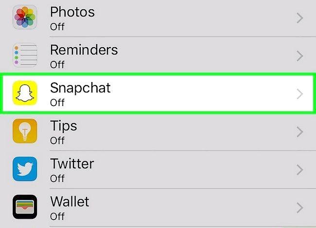 Prent getiteld Vertel as iemand op Snapchat Stap 3 teken