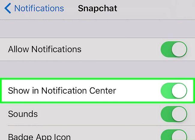 Prent getiteld Vertel as iemand op Snapchat tik Stap 5