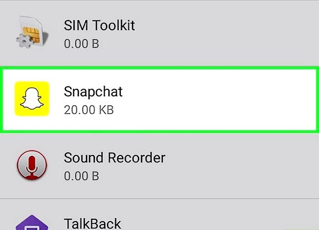 Prent getiteld Vertel as iemand op Snapchat Stap 8 gaan skryf