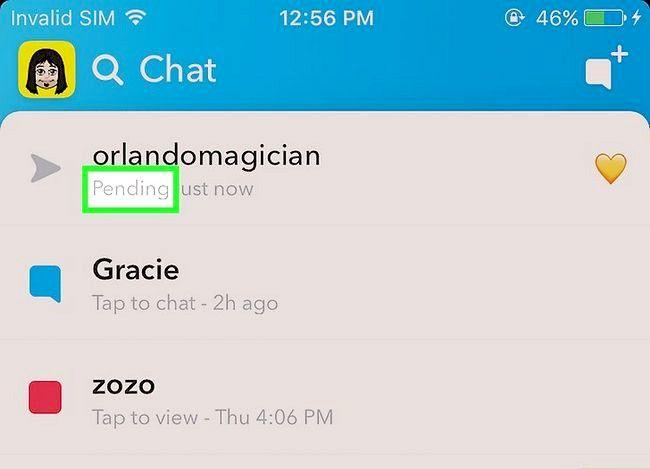 Prent getiteld Weet as iemand u op Snapchat Stap 6 verwyder het