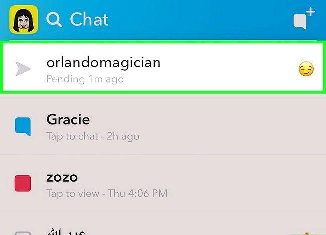 Prent getiteld Weet as iemand u op Snapchat Stap 9 verwyder het
