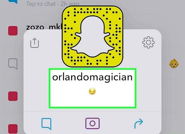 Prent getiteld Weet as iemand u op Snapchat verwyder het. Stap 10