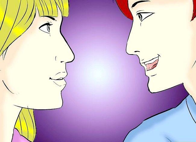 Prent getiteld Weet of jou geliefde jou terugkyk (vir ouens) Stap 2
