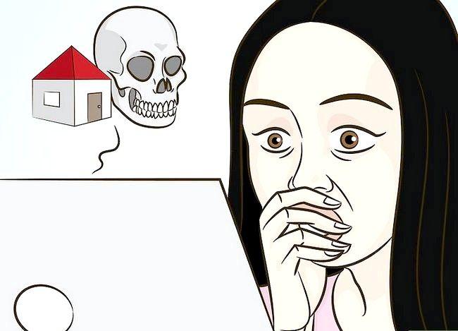Prentjie getiteld Sê of jou huis op stap 12 gesoek word