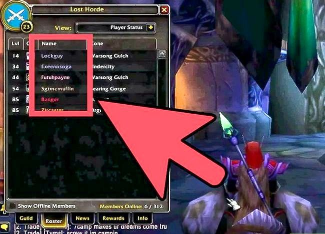Beeld getiteld Laat `n Gilde in World of Warcraft Stap 3