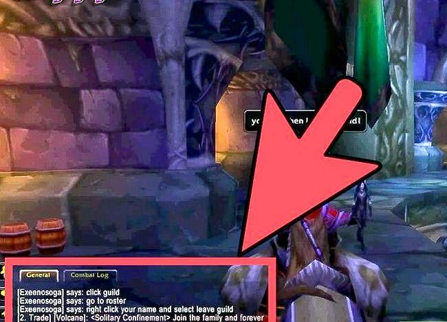 Prent getiteld Laat `n gilde in World of Warcraft Stap 5