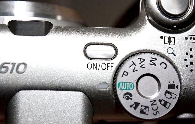 Prent getiteld Droë digitale kamera Stap 6