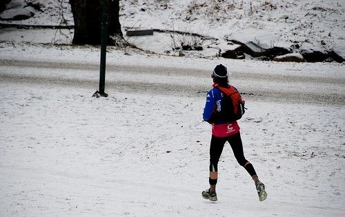 Prent getiteld Running Cold 7903