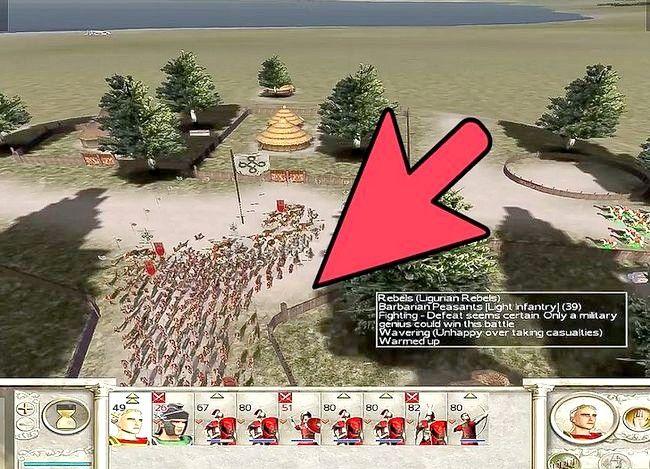 Prent getiteld Wees groot in Rome Totale Oorlog Stap 11