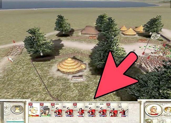 Prent getiteld Wees groot in Rome Total War Step 12