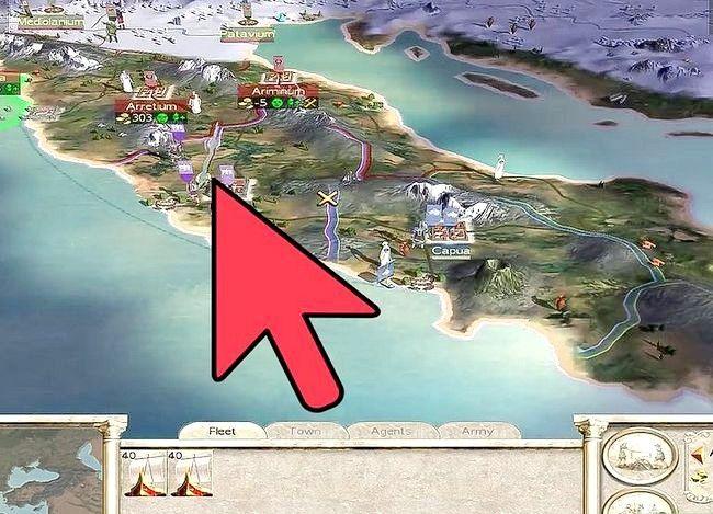 Prent getiteld Wees groot in Rome Total War Step 15