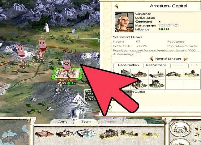 Prent getiteld Wees groot in Rome Total War Step 2