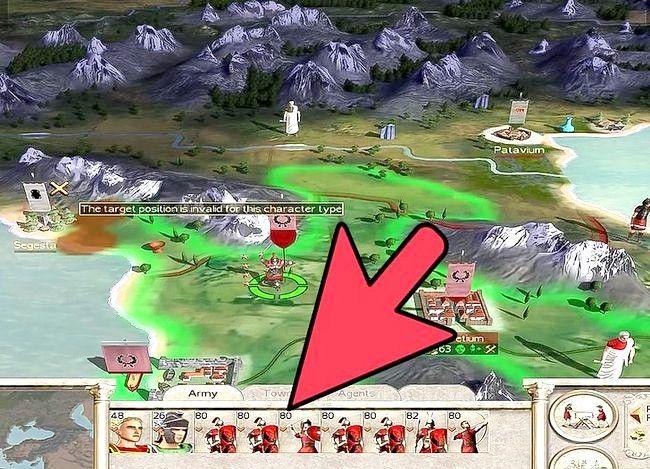 Prent getiteld Wees groot in Rome Total War Step 4