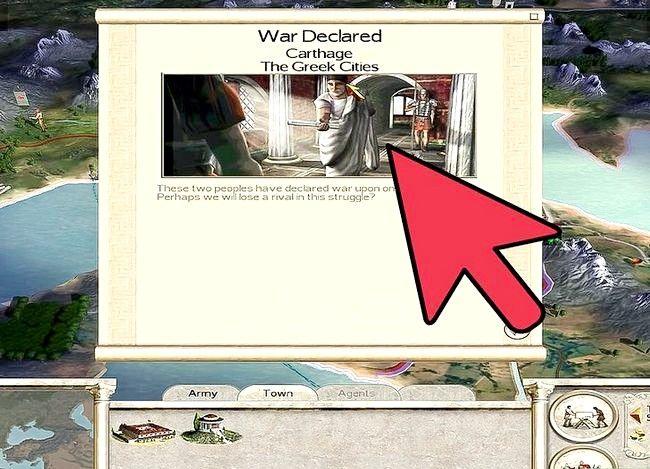 Prent getiteld Wees groot in Rome Totale Oorlog Stap 5