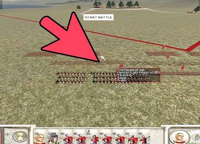 Prent getiteld Wees groot in Rome Totale Oorlog Stap 7